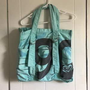 Roxy beach bag tote